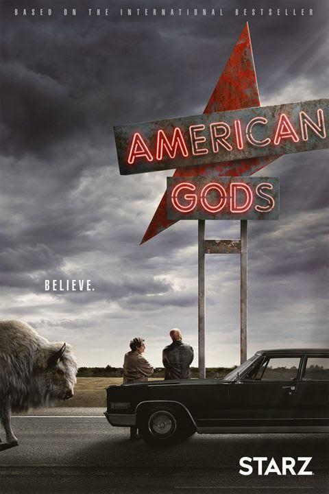 Resultado de imagen de poster american gods