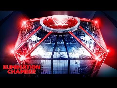 WWE disponibiliza imagens da montagem do próximo PPV Elimination Chamber