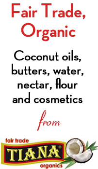 Coconut oil from TIANA - The UKs Finest Coconut Oil