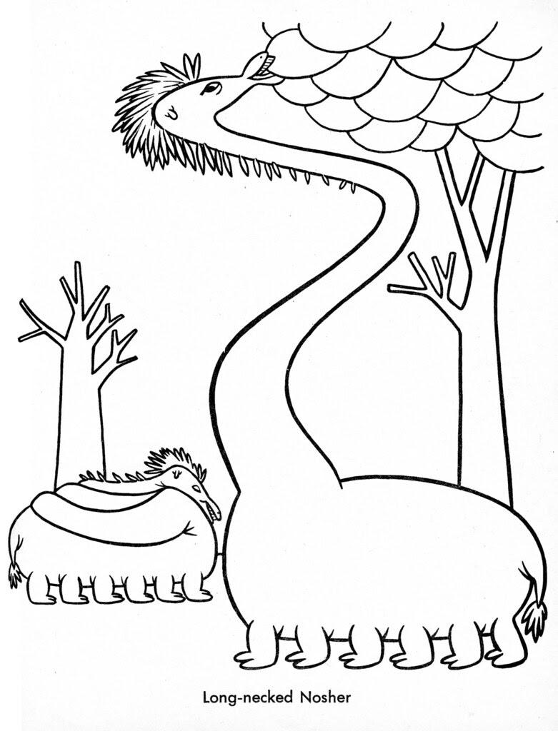 Funny Monsters Coloring Book (Treasure Books, 1965) 34