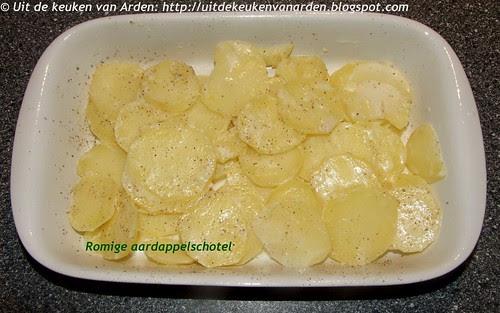 Romige aardappelschotel