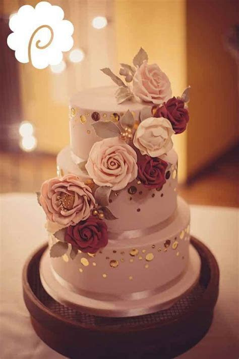 Beautiful Cakes with Gold, Silver, Pearls and Glitters
