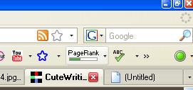 Google Toolbar on Firefox