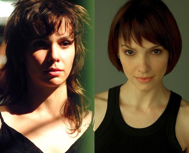 Debora e Cynthia Falabella dividiram o papel em 'O Clone' (Foto: reprodução)