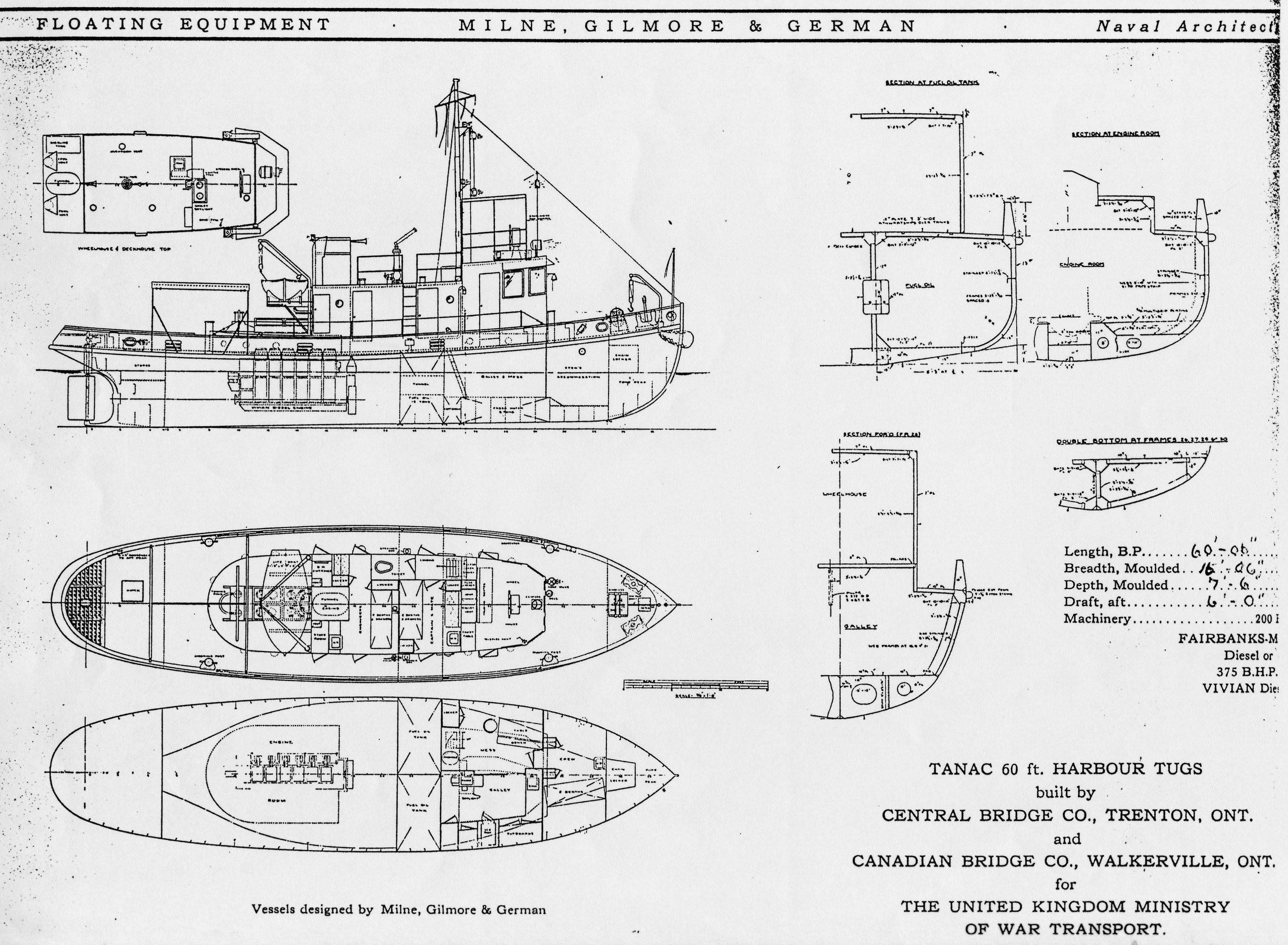 Pics Photos - Tug Boat Plans Stevebriggs Firms Osmrm Blueprints Html