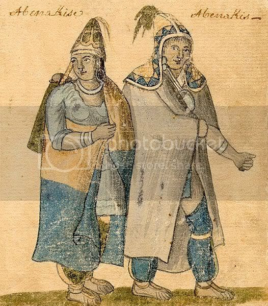 Native American man and woman