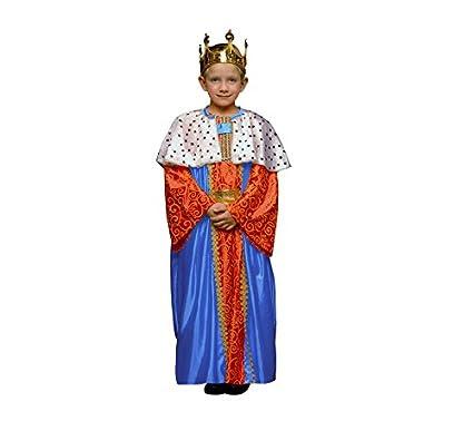 Disfraz de Rey Mago Azul para niños en varias tallas