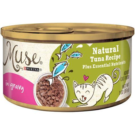 purina muse natural adult grain  tuna recipe  gravy
