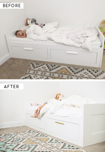 easy ikea hack new house who dis pinterest ikea bedroom and brimnes bed from ikea though i d need to think about the headboard 41 besten brimnes bed bilder