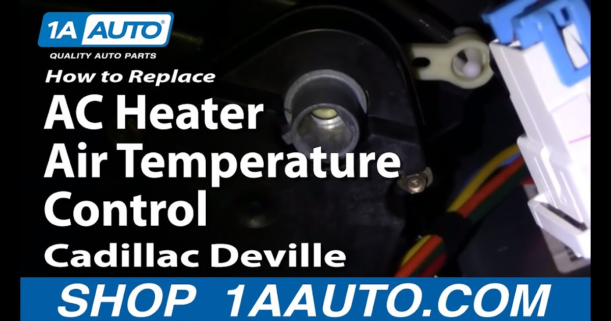 2003 Cadillac Cts Air Conditioning Problem