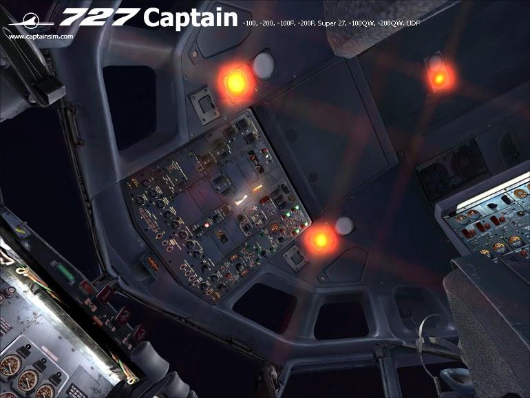 Captain Sim 727 Pro Pack Ariel Creation Flight