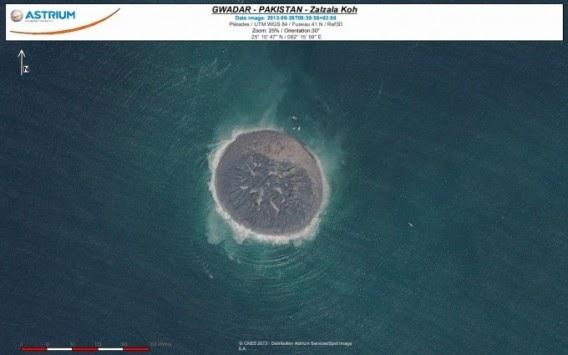 «Ζαλζάλα Κοχ» ονομάστηκε το νέο νησί που γεννήθηκε στο Πακιστάν.