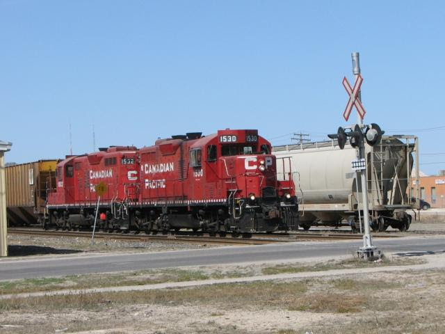 CP 1530 in Winnipeg