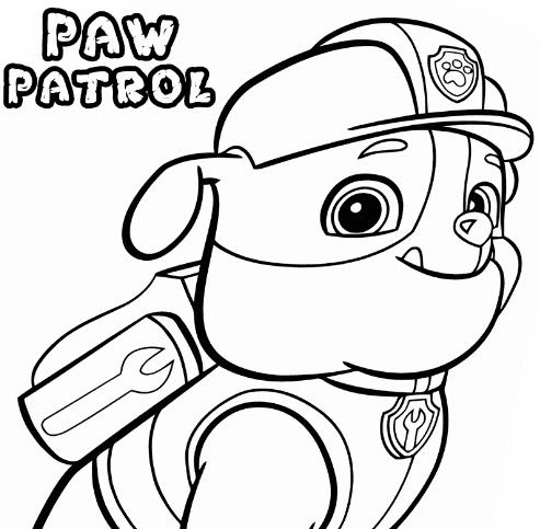 Paw Patrol 21 Coloring Page Free Coloring Pages Online