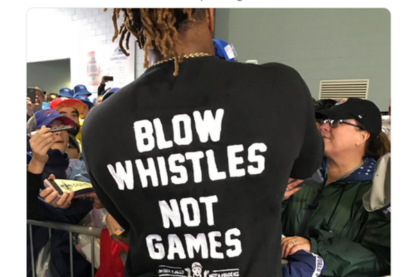555447919f07 Cam Jordan s T-shirt makes big statement on Saints-Rams no-call ahead of NFL  Pro Bowl