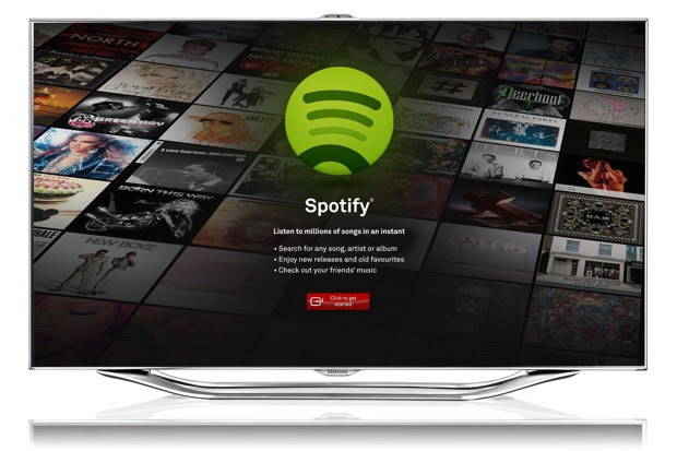Samsung partners with Spotify, brings streaming music to its 2012 SmartTVs