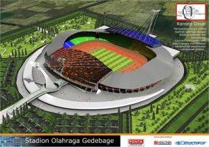 Nih ada informasi beberapa konsep yang akan di berdiri di Indonesia Konsep-Konsep Stadion International yang Akan Dibangun di Indonesia