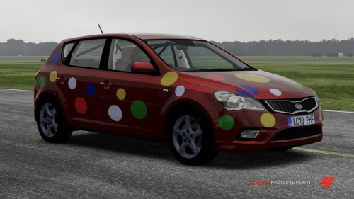 Forza 4 - Kia cee'd Reasonably Priced Car Children In Need 2012 edition
