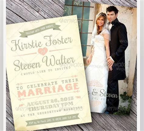 45 Beautiful Wedding Invitation PSD Templates ? Photoshop
