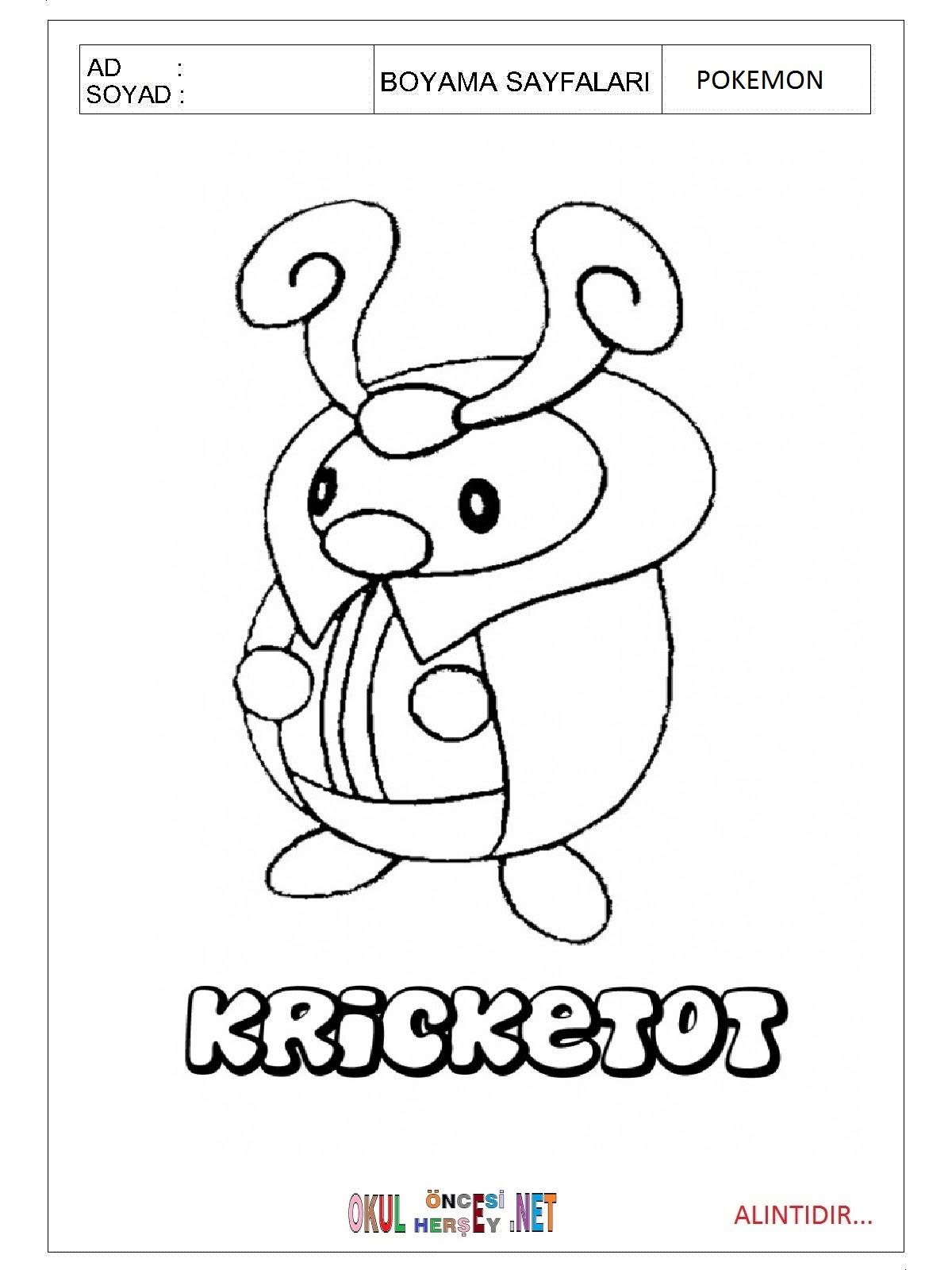 Pokemon Boyama Sayfaları Gazetesujin