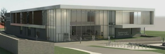 Picture of how the new leisure centre could look