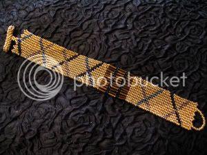 Golden Cross Cuff