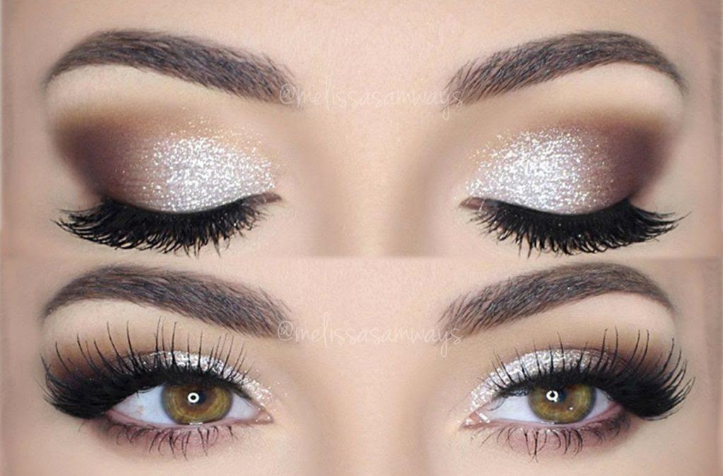 Glitter makeup styles