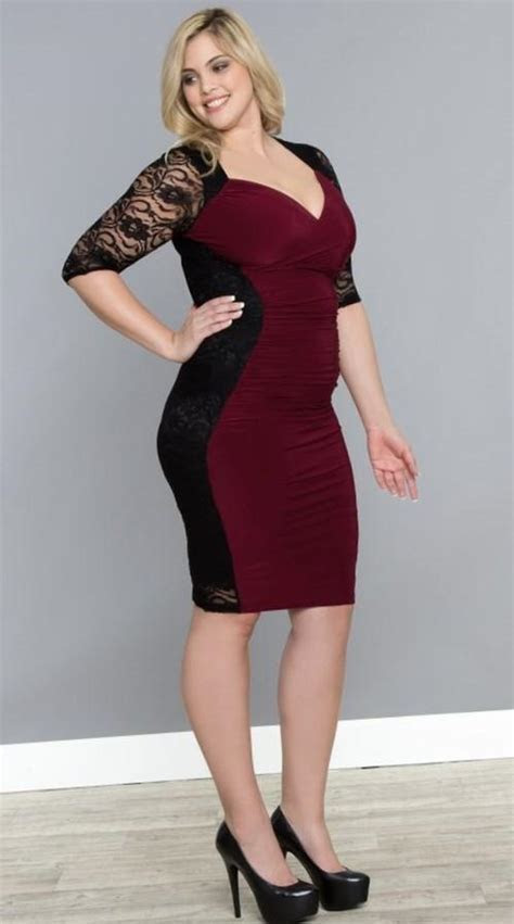 Dresses for plus size hourglass figure   PlusLook.eu