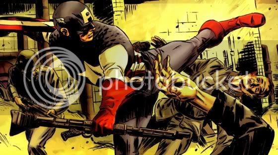 First Avenger: Captain America
