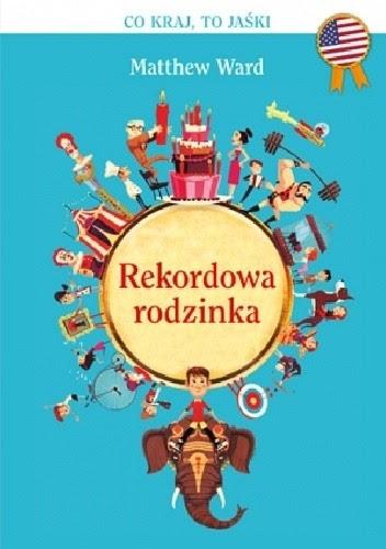 Okładka książki Rekordowa Rodzinka (kumple Mikołajka)
