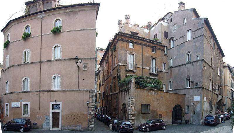 File:Ponte - via Giulia confraternita Pietà casa Sangalletti arciconfraternita dei Fiorentini 1000213-4.JPG