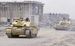 Challenger 2 in Iraq