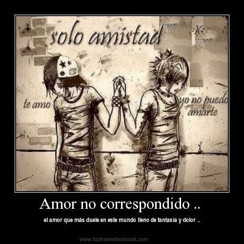 Imagenes Con Frases De Amor No Correspondido