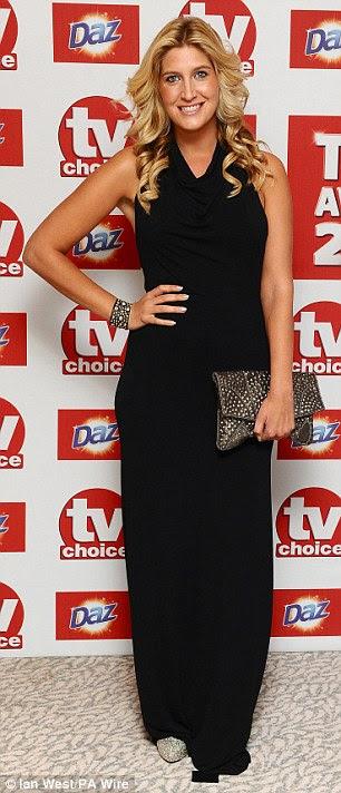 Katching My I Michelle Keegan Wins At Tv Choice Awards