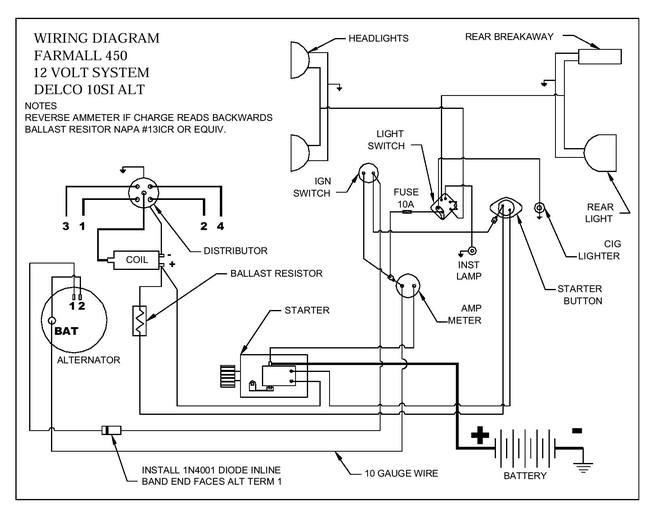 International Harvester Wiring Schematic