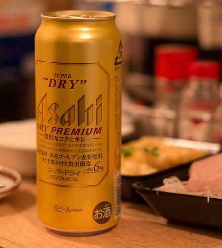 Asahi DRY PREMIUM Beer by cinz