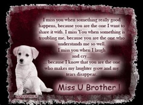 I Missed You Brother Quotes