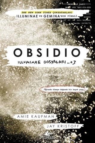 Kitap Yorumu: Obsidio - Amie Kaufman, Jay Kristoff