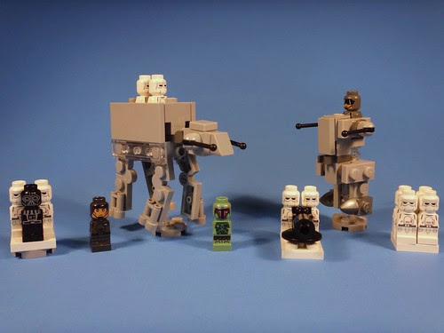 LEGO Battle of Hoth Imperial Forces