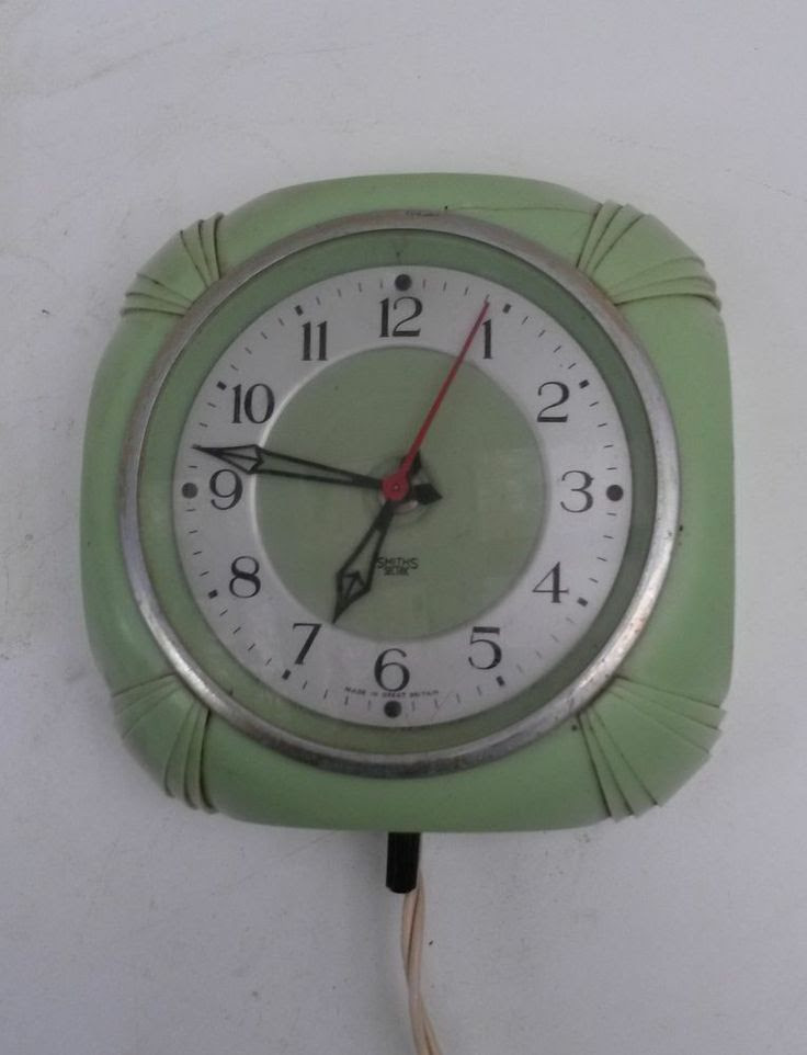 Smiths Sectric electric wall clock.