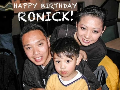 Happy 23rd Birthday Ronick!
