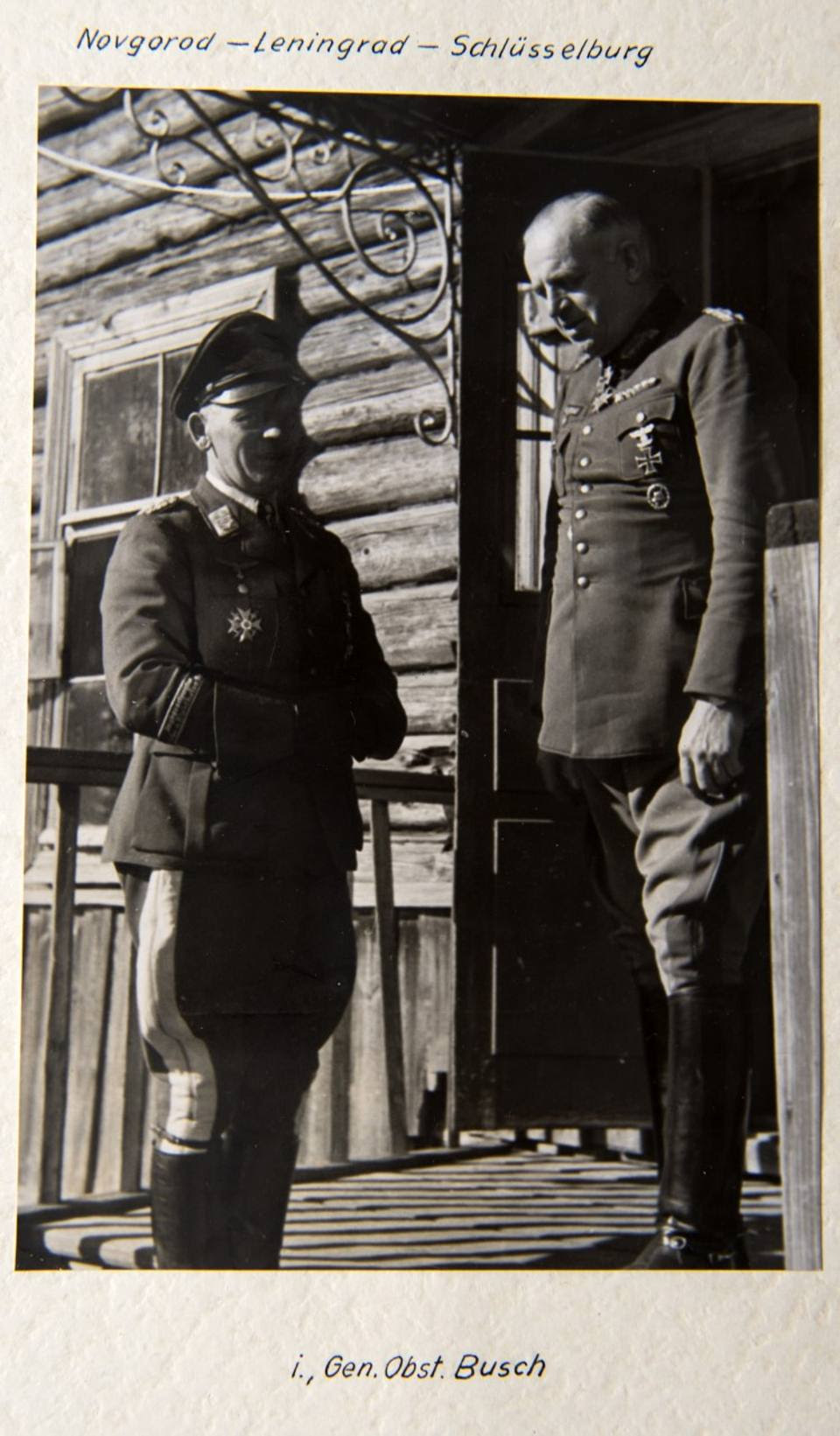 Col generale Busch