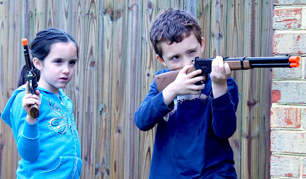 Should kids still be allowed to play with toy guns?