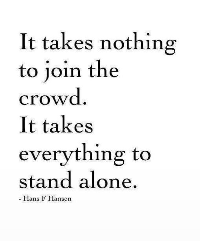 To Stand Alone In An Evil Day We Must Walk With God The