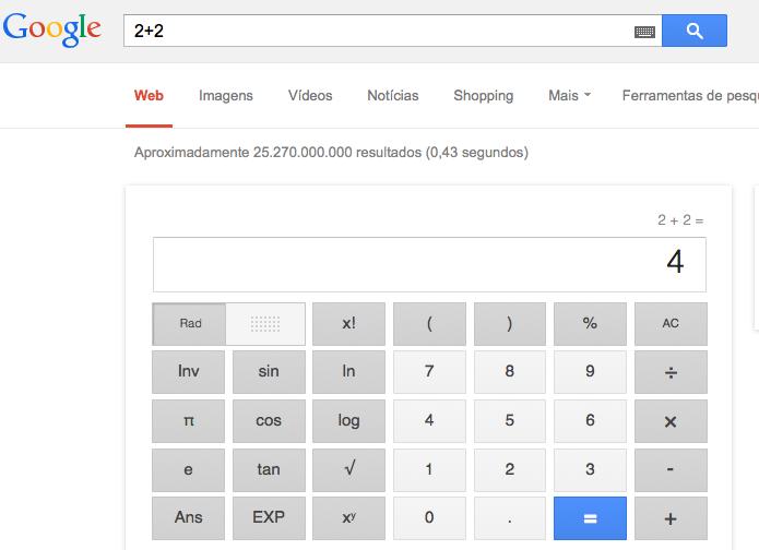 Visualizando o resultado da conta do Google (Foto: Reprodução/Edivaldo Brito)