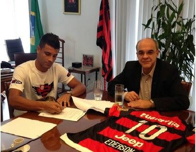 Ederson Flamengo (Foto: Reprodução / Instagram)