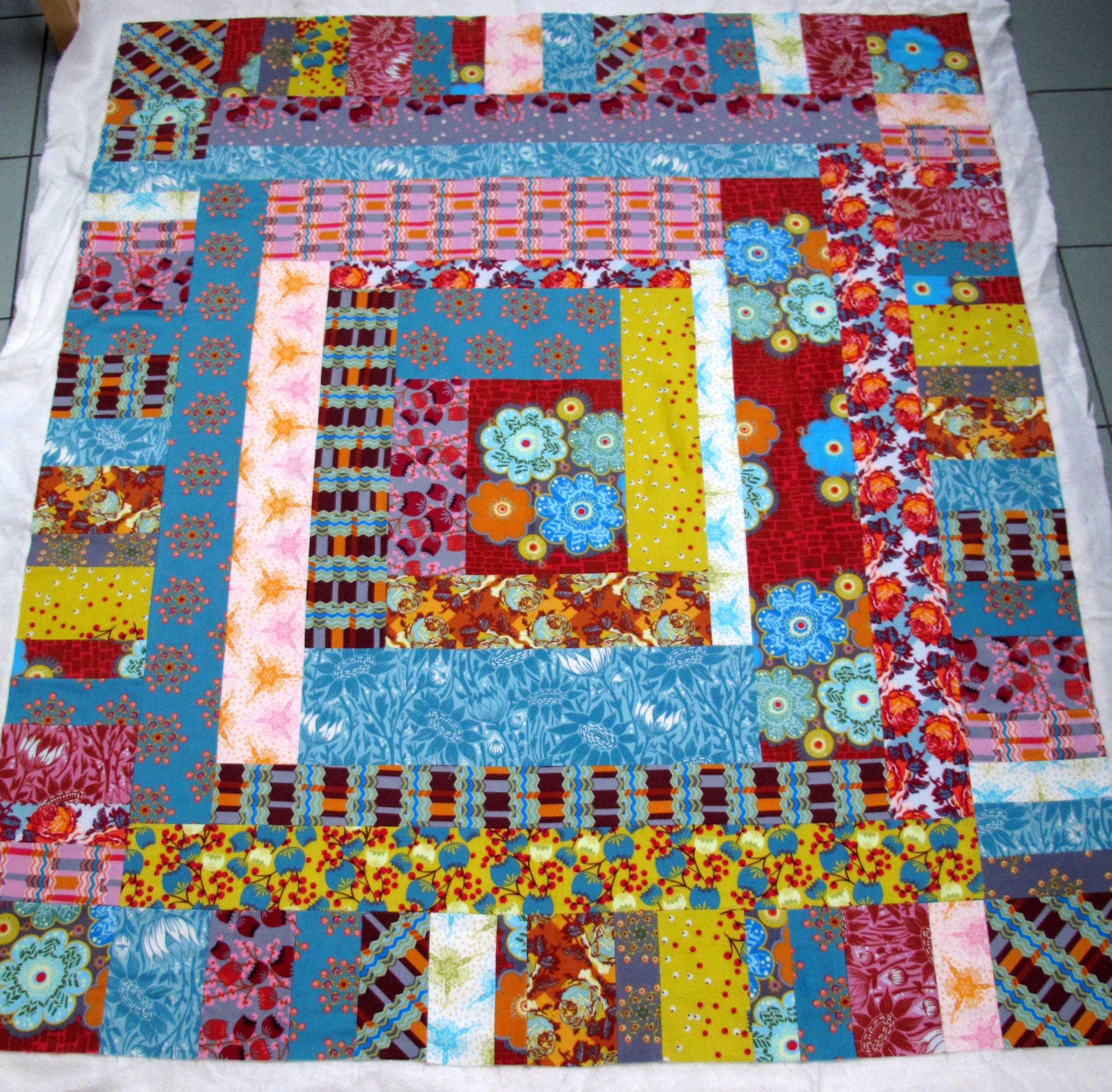 Loulouthi Flannel quilt