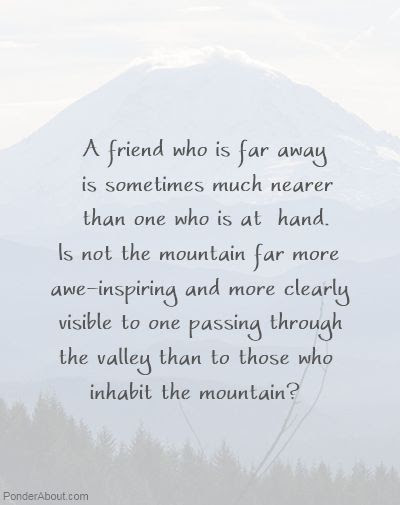 Quotes About Friends Far Away 20 Quotes