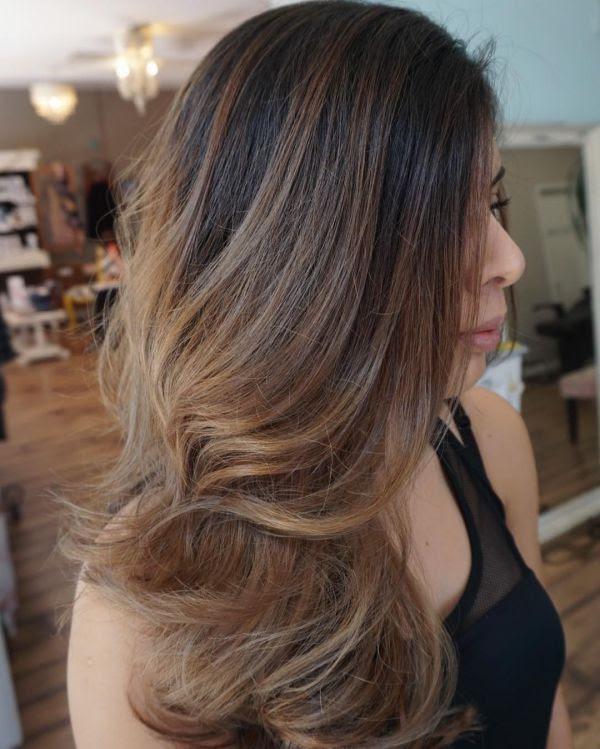 20+ Braune Haare Strähnchen Welche Farbe