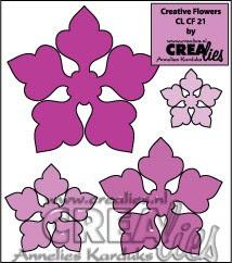 Creative Flowers stans no. 21 / Creative Flowers die no. 21